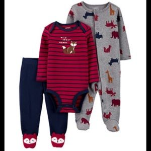 ⭐️NEW⭐️CARTERS | 3-Piece Wild About Mommy Set NB